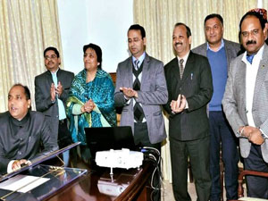 Hon'ble Chief Minister, Himachal Pradesh, launched the website of the HP State Disaster Management Authority (http://www.hpsdma.nic.in/) at Dharamshala, for the benefit of citizens
