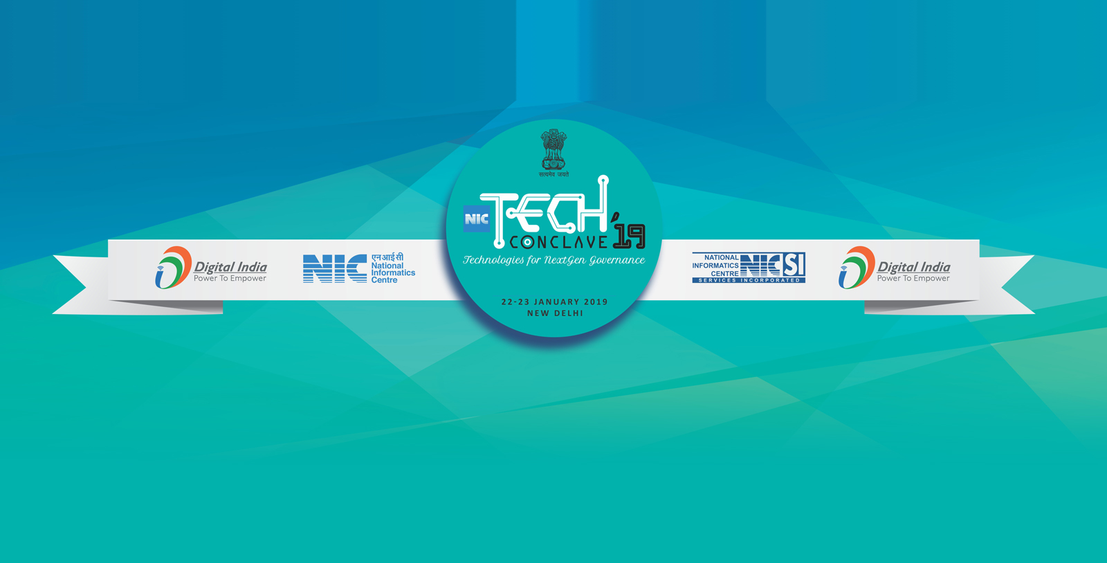 "Image of NIC is organising a 2-day technology event ""NIC TechConclave…"