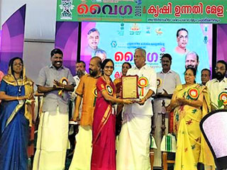 Hon'ble Minister for Animal Husbandry, Kerala, launched software applications ASHA, FMS & MART
