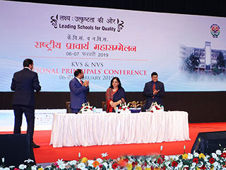 Image of Secretary (SE&L) HRD Ministry launched…