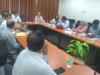 A Bangladesh Delegation visited Haryana to study the Integrated Financial & Human Resource Mgmt System, implemented by the State in coordination with NIC Haryana