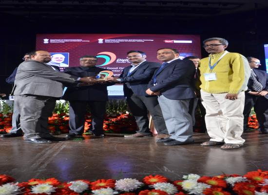 DISTRICT ADMINISTRATION GIRIDIH receives DIGITAL INDIA WEEK AWARD Awards