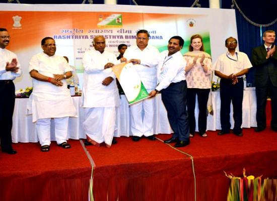 Haryana receives National Award of Rashtriya Swasthya Bima Yojana -RSBY Awards