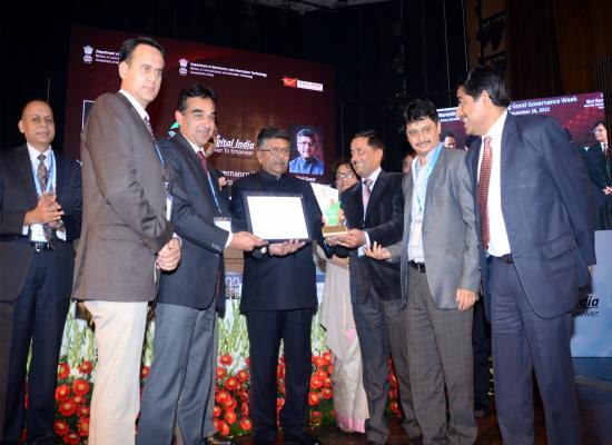 NIC Himachal Pradesh receives Digital India eGovernance Awards