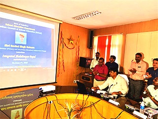 Hon'ble Education Minister of the State launched the Integrated ShalaDarpan Portal developed by NIC Rajasthan