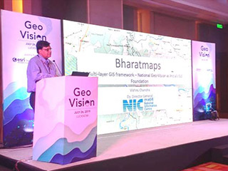 NIC UP organized 'GeoVision'- a seminar for the State Govt. on the use of GIS and NIC initiatives for implementation of GIS enabled IT projects