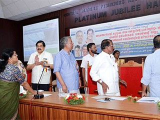 'Fisheries Information Management System', was inaugurated by Hon'ble Minister, Fisheries, Harbour Engineering & Cashew Industry, Kerala