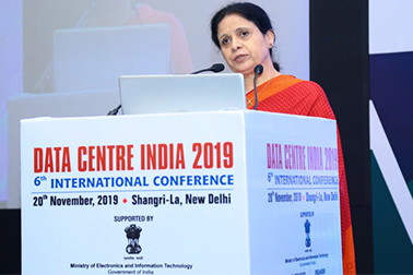 Dr. Neeta Verma, DG, NIC - Guest of Honour at 'Data Centre India 2019 – International Conference'