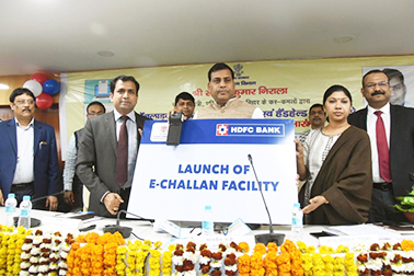 Inauguration of NIC developed 'e-Challan' in Bihar