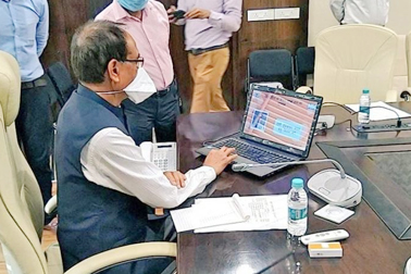NIC developed Online MDM Portal and e-Payment Platform was used by Hon'ble CM of MP to transfer Rs 117 crores through DBT in bank accounts of 66.27 lakh students