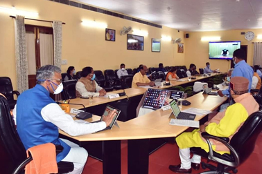 NIC developed e-Mantrimandal portal and NIC VC supported Hon'ble CM, Uttarakhand, to conduct a paperless Cabinet meeting in the State, amid COVID-19