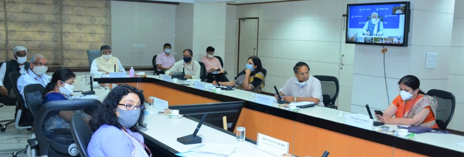 Image of NIC VC supported the interaction of Hon'ble Minister for…