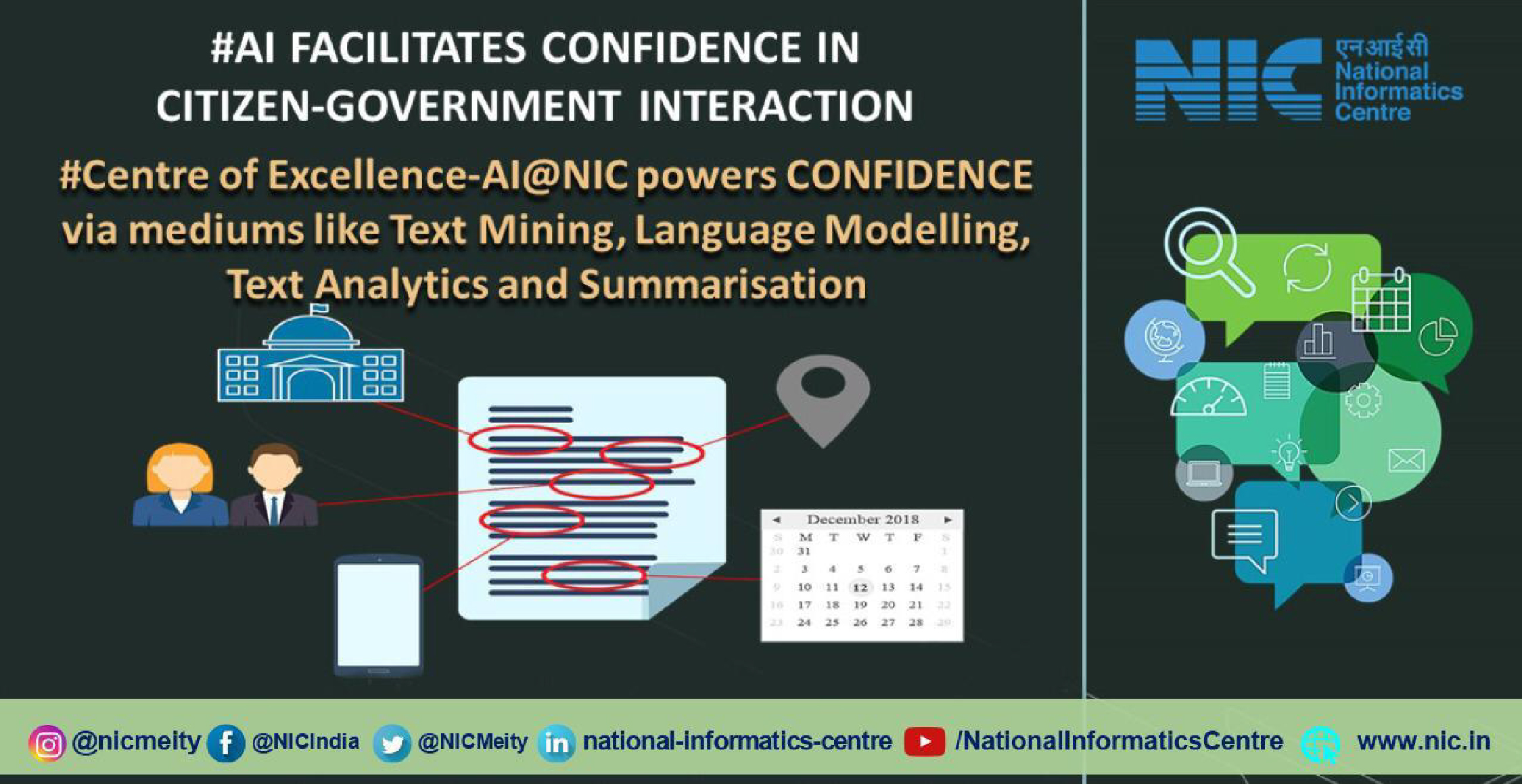 Centre of Excellence-AI@NIC