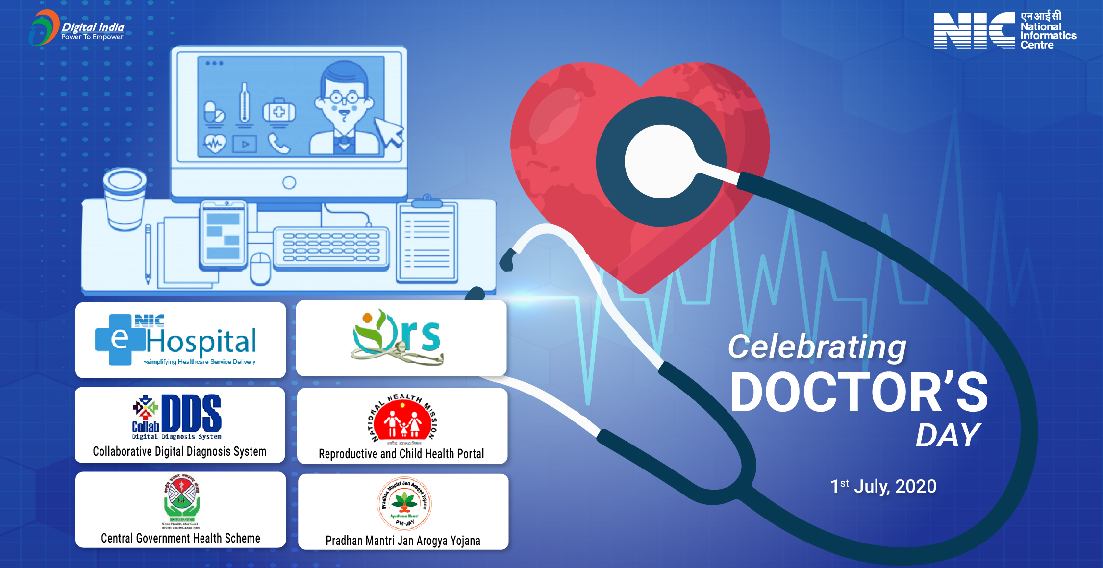 Doctor's Day – eHospital@NIC