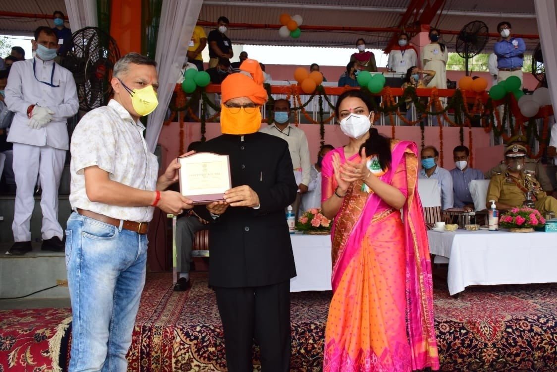 DIO Jammu Honoured on Independece Day 2020