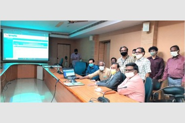 Launch of NIC developed end-to-end solution for students of Dr. NTR University of Health Sciences in Andhra Pradesh