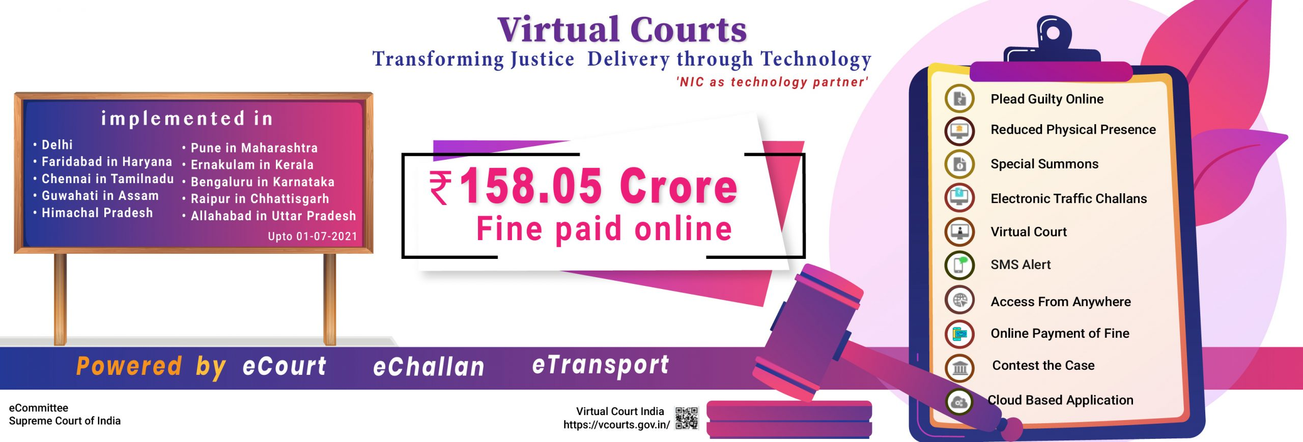 Image of Virtual Courts – Transforming Justice Delivery through Technology